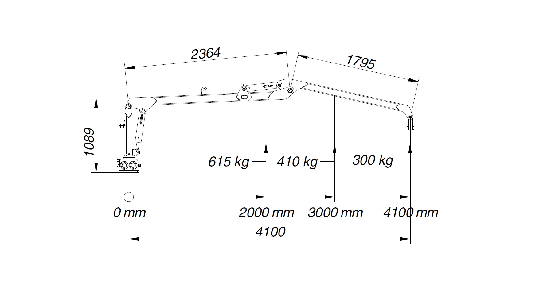 SC 41 lifting diagram